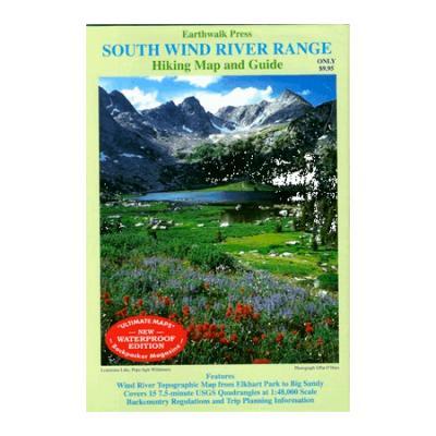 Earthwalk Press South Wind River Range Map Gd