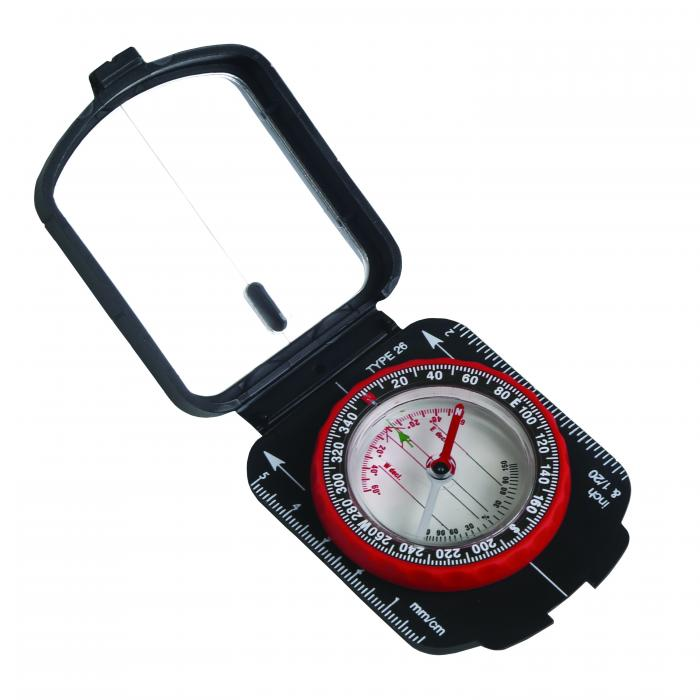 Stansport Deluxe Multi Function Compass With Mirror