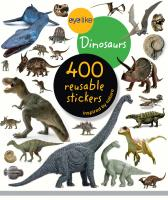 Workman Publishing Eyelike Dinosaurs 400 Reusable Stickers