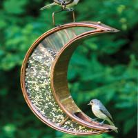 Good Directions Crescent Moon Bird Feeder, Venetian Bronze