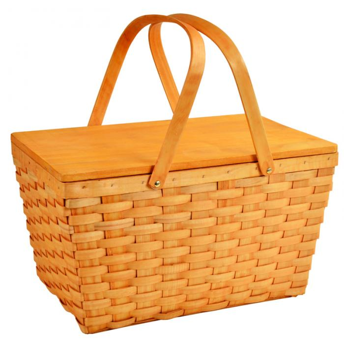 Picnic at Ascot Large Family Size Traditional American Lined Picnic Basket