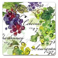 Counter Art Vin 27 Hardboard Coasters Set of 4