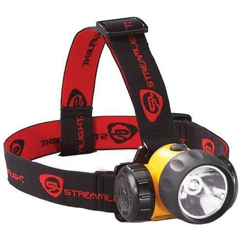 Streamlight HAZ-LO LED Headlamp, 3x AAA, 120 Lumens, Yellow