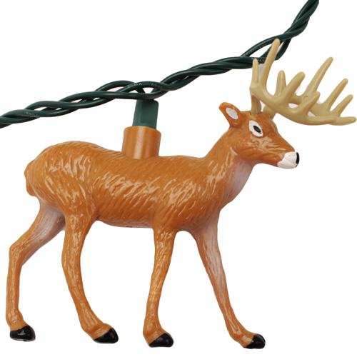 Rivers Edge Products 10 Pc Deer Light Set