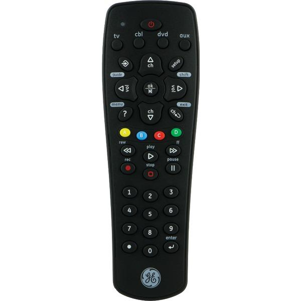 Ge 25006 4-Device Universal Remote with DVR Function