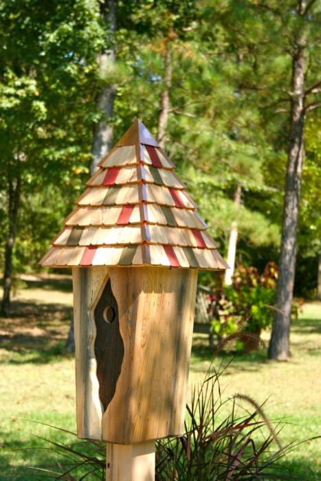 Heartwood Vintage Bluebird House,Antique Cypress