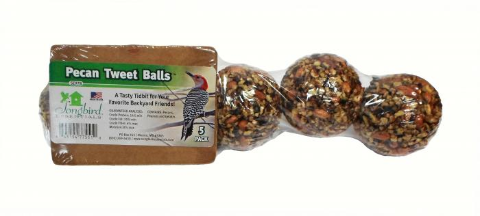 Songbird Essentials Pecan Tweet Seed Ball (5 Pack)