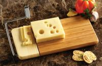 "Prodyne 126B Bamboo Cheese Slicer with 12"" x 6"" Board"