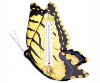 Bobbo Butterfly Yellow Swallow Thermometer