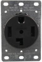 Pass & Seymour 3864/278 Single-Flush Dryer Receptacle