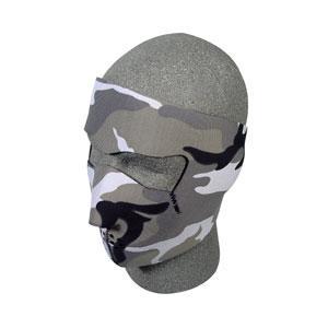 Neoprene Face Mask, Urban Camouflage