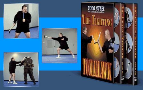 Cold Steel Knives The Tactical Tomahawk DVD (2 Disc Set)