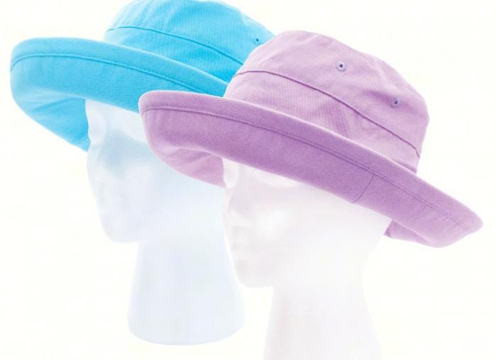 Sloggers Casual Bucket Hat 2 pack (1 Purple, 1 Teal)