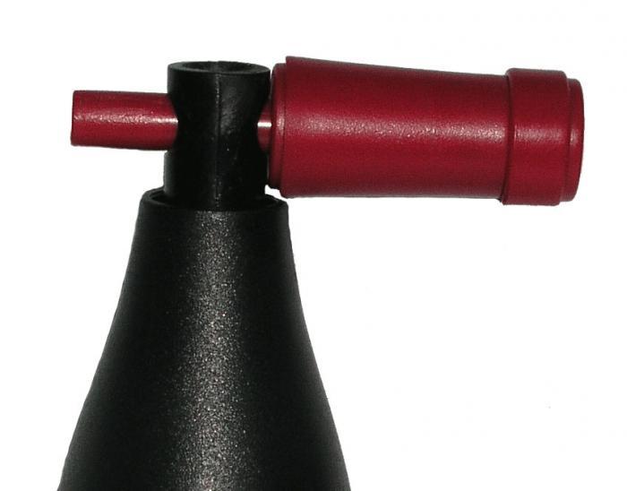 Earthly Way Wine Bottle-Shaped Corkscrew