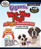 Wee Wee Pad Gigantic 18 Ct