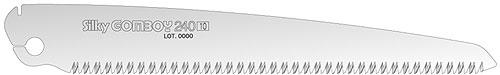 Silky Replacement Blade for Gomboy-7 240 and Gomboy 240 Medium Teeth Folding Saw