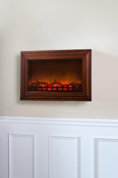 Fire Sense Mdf Wall Mounted Electric Fireplace