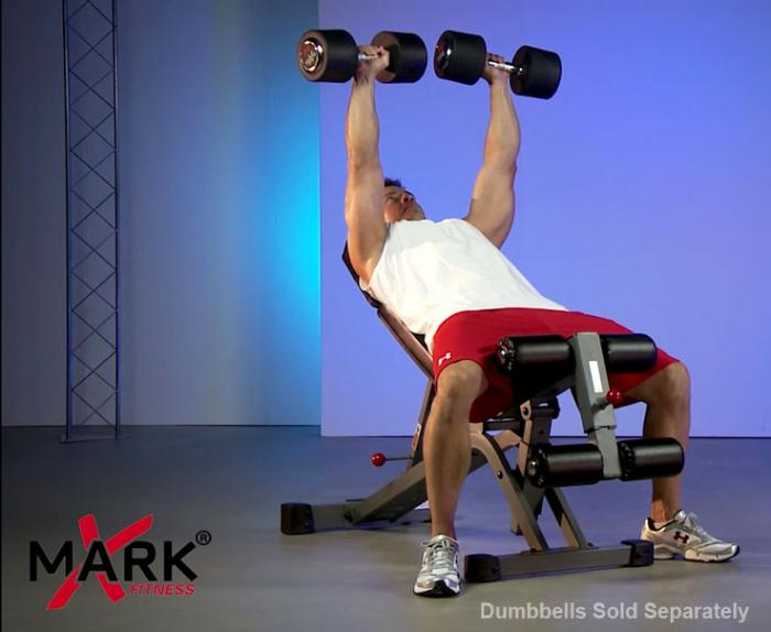 XMark FID Ab Combo Weight Bench XM-7628