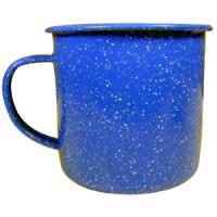 Coleman Coffee Mug, Enamel, Blue, 10 oz.