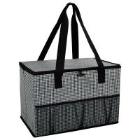 Picnic at Ascot Collapsible Storage Container/Organizer for Home and Trunk - Houndstooth