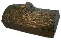 John Wright Company Log Steamer - Mojolica Brown
