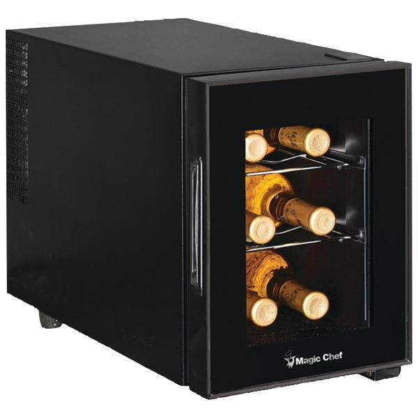 Magic Chef MCWC6B 6-Bottle Wine Cellar