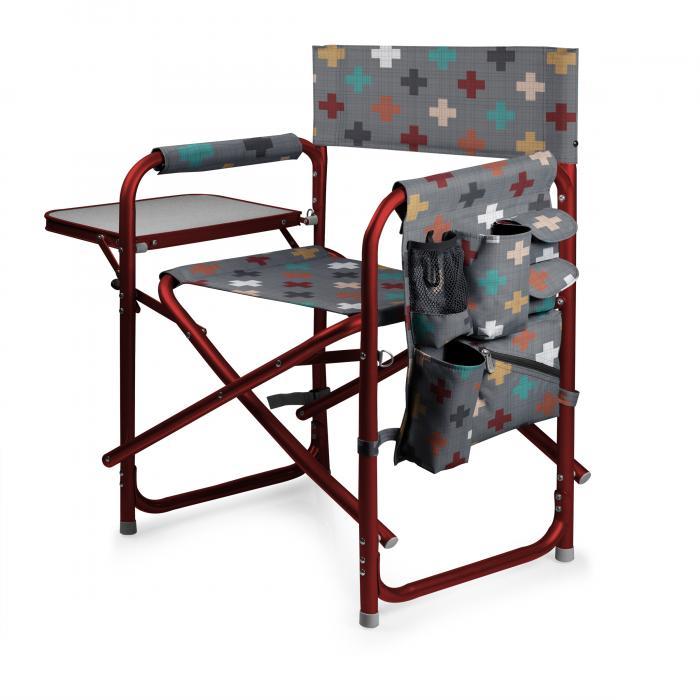 Picnic Time Sports Chair - Pixels (Pixels)