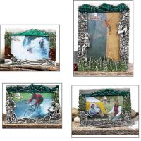 Camping Resin Picture Frame