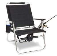 Ultra light Backpack Fishing Chair, Black