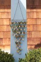 Ancient Graffiti Shimmering Bells Butterflies
