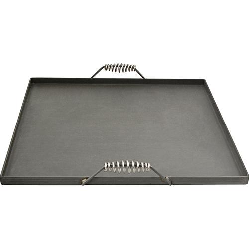 FMP Four Burner Portable Black Steel Griddle