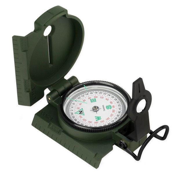NDuR Lensatic Compass W/Plastic Case