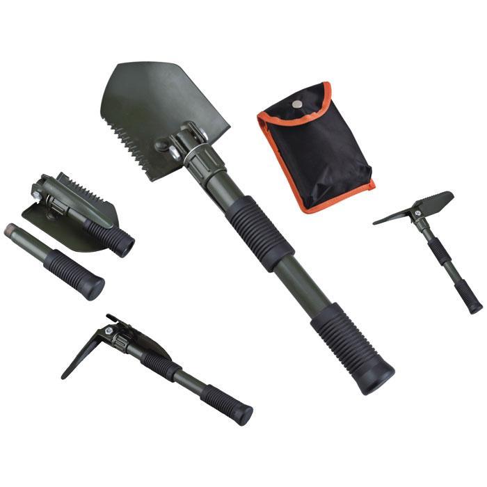 AceCamp Folding Shovel With Pick