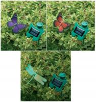 Smart Solar Flutterby Set of 3 (2 Butterflies, 1 Dragonfly)
