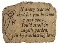 Carson Garden Stone Angel's Garden