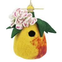 DZI Handmade Designs Pear Felt Birdhouse