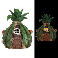 Exhart Solar Pineapple House 8.5 inch