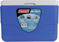 Coleman Coleman 28-Quart Cooler With Bail Handle, Blue