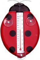 Songbird Essentials Ladybug Large Window Thermometer