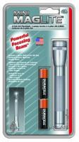 MagLite - AA Mini Mag Gray Flashlight Pack