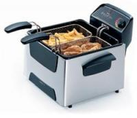 Presto 05466 Stainless Steel Dual Basket ProFry Deep Fryer