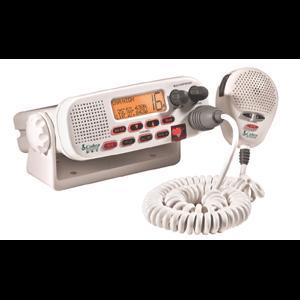 Cobra MR45-D White Fixed Mount Class D Submersible VHF Radio