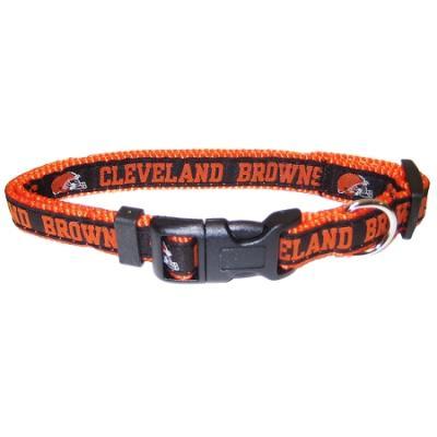Cleveland Browns NFL Dog Collar - Medium