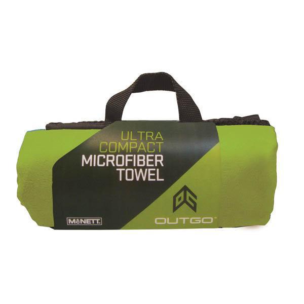 Outgo Microfiber Towel, 30 x 50 in., OG Green
