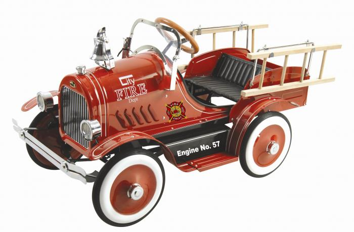 Dexton Special Deluxe Fire Truck Pedal Car