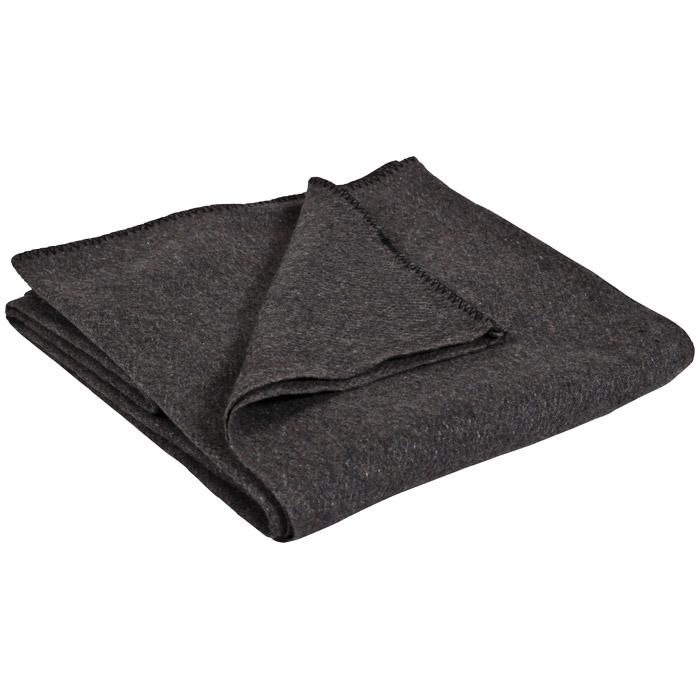 Stansport Wool Blanket Gray 60x80