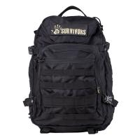 12 Survivors E.O.D. Tactical Backpack, Black