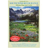 Earthwalk Press South Wind River Range Map Gd