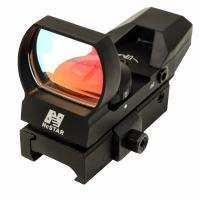 Red Reflex Sight/4 Reticles/Qr Mnt/Blk
