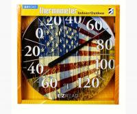 Barn Flag Thermometer 12.5 inch